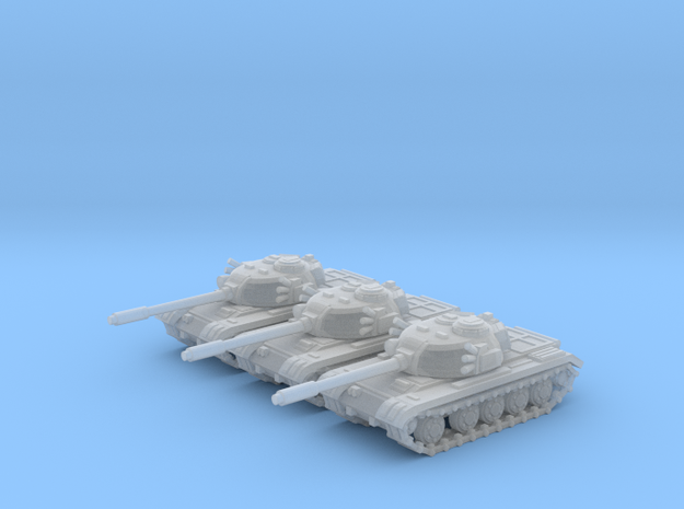 6mm Tank 1950-60s in Frosted Ultra Detail