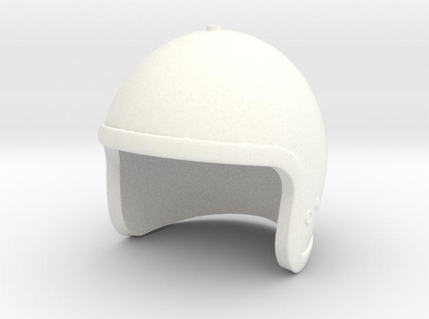Jet Pack Helmet - 1/6 scale in White Processed Versatile Plastic