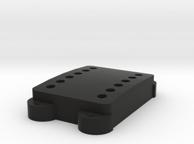 SG-3 Jag Pickup cover-holes in Black Premium Versatile Plastic