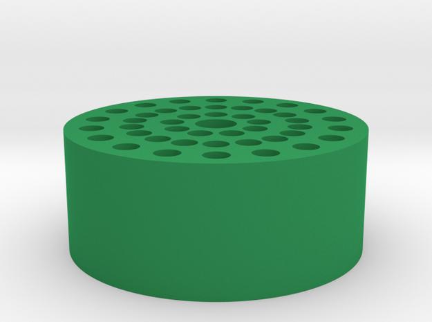 20200826 Habitat 45 Ports Diameter 122 v2 in Green Processed Versatile Plastic