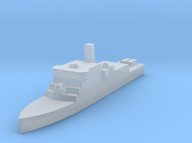 Fast Oceanic Mine Hunter in Smooth Fine Detail Plastic: 1:3000