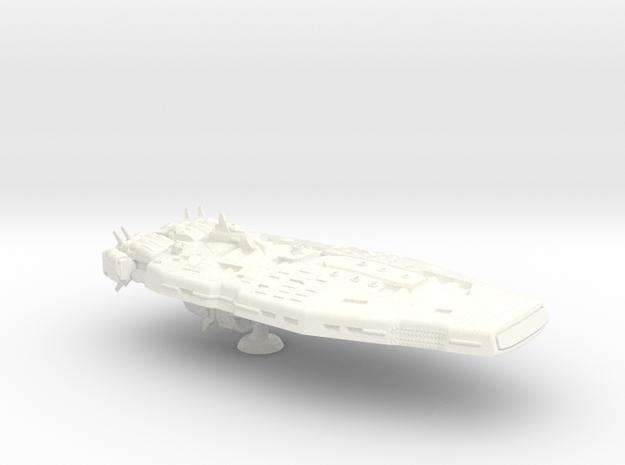 Warspite Class Monitor -1:20000 in White Processed Versatile Plastic