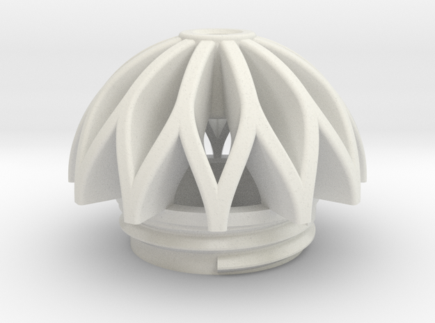 TeaC | Weave (12) *Ball in White Natural Versatile Plastic