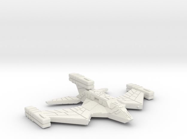 3125 Scale Paravian War Destroyer (DW) SRZ in White Natural Versatile Plastic