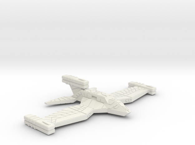 3125 Scale Paravian War Cruiser (CW) SRZ in White Natural Versatile Plastic
