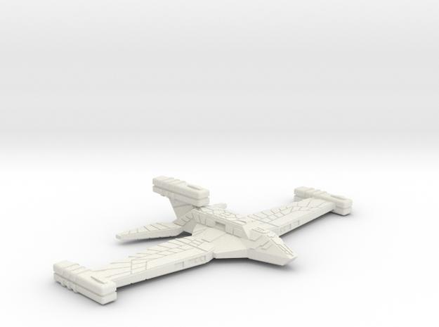 3125 Scale Paravian Heavy Cruiser (CA) SRZ in White Natural Versatile Plastic