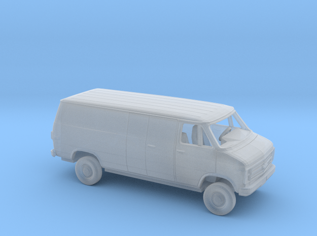 1/160 1985-91 Chevrolet G Van Long Delivery Kit in Smooth Fine Detail Plastic