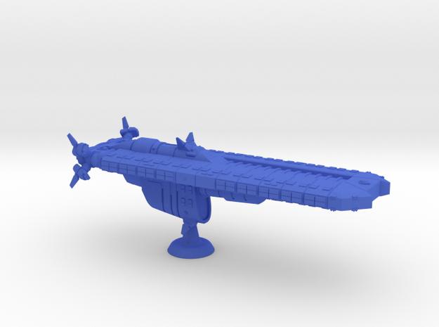 Revere Class Assault Ship - 1:20000 in Blue Processed Versatile Plastic