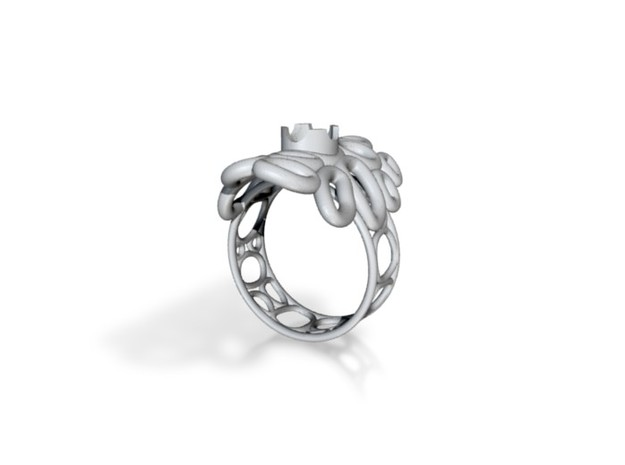 Bone ring 3d printed