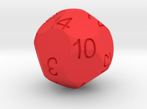 Alt D16 Sphere Dice 3d printed