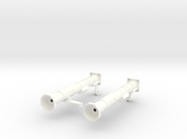 FA30006 AT-4 M136 Launchers 1/10 scale in White Processed Versatile Plastic
