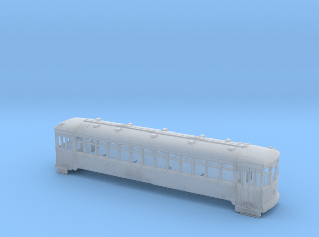 "(Test) Ho Scale TARS Streetcar ""Convexa""  in Smooth Fine Detail Plastic"