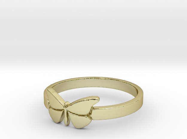 Butterfly (small) Ring Size 10 in 18k Gold