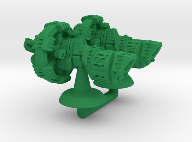 Agil Class Strike Cruiser - 1:20000 in Green Processed Versatile Plastic