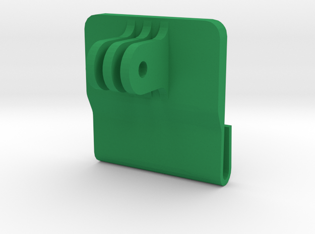 Window Mount for Gopro (all models) in Green Processed Versatile Plastic