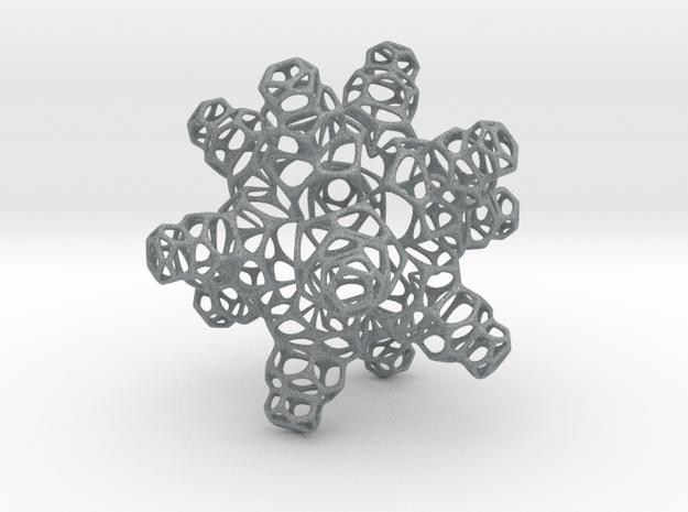 3D Snowflake 3d printed