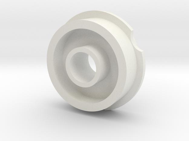 Part 01 SPG motorholder in White Natural Versatile Plastic