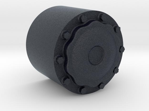 Nabendeckel HA passend zu ScaleART in Black PA12