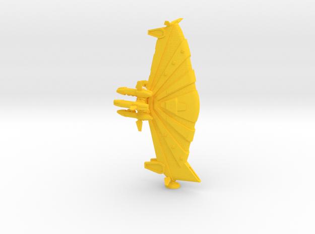 Kukulkan Class Monitor - 1:20000 in Yellow Processed Versatile Plastic