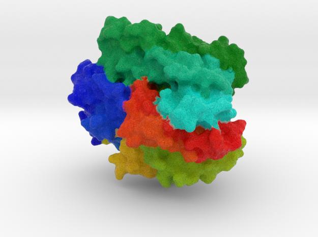 Cytochrome P450 BM3 mutant M11 in Natural Full Color Sandstone