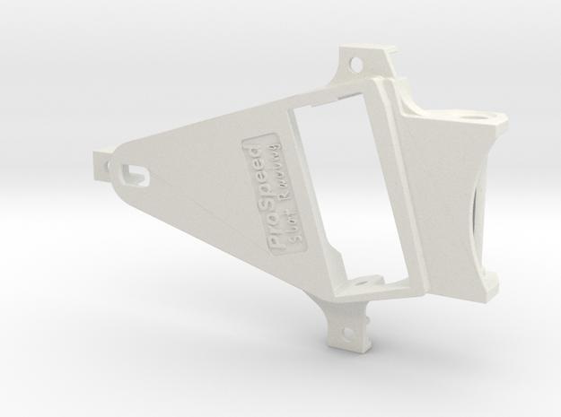 PSNS00902 motor mount for NSR chassis Babyking OF1 in White Natural Versatile Plastic