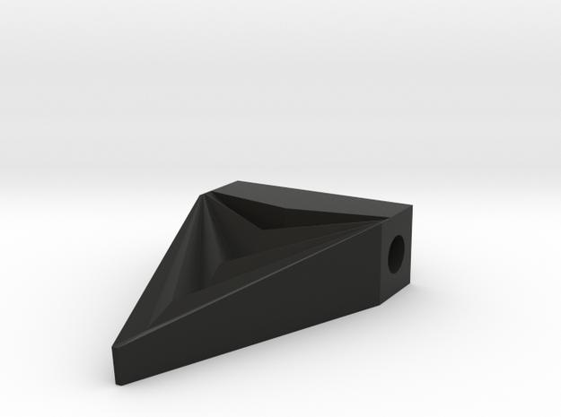 Unisex Futuristic Triangle Arrowhead Pendant