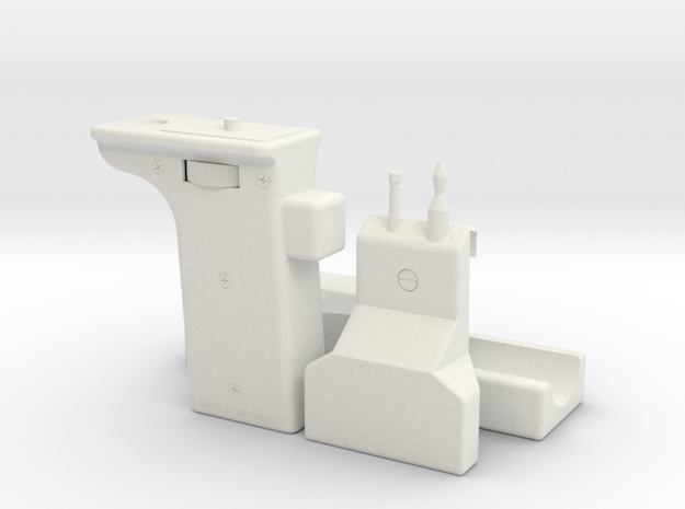 ST/PP1 Sling Gun (No Shoulder and Telescope) in White Natural Versatile Plastic