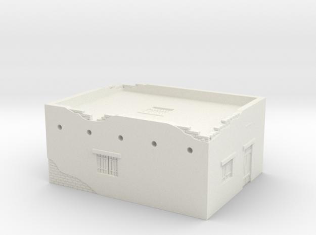 Desert House 1/120 in White Natural Versatile Plastic