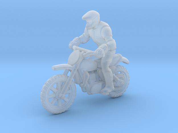 MX Bike Rider 1:160 N in Smooth Fine Detail Plastic