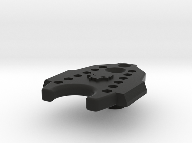 Deranged Base Plate in Black Strong & Flexible