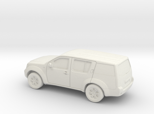 1/43 2004-13 Nissan Pathfinder in White Natural Versatile Plastic