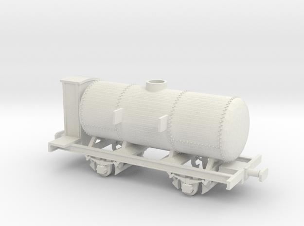 FCL carro Mcm in H0 in White Natural Versatile Plastic