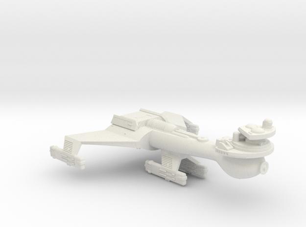 3788 Scale Klingon B8 Combined Dreadnought WEM in White Natural Versatile Plastic