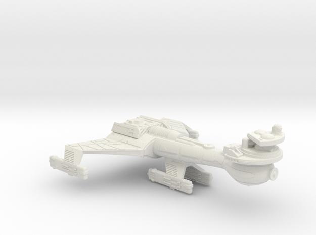 3125 Scale Klingon B8K Combined Dreadnought WEM in White Natural Versatile Plastic