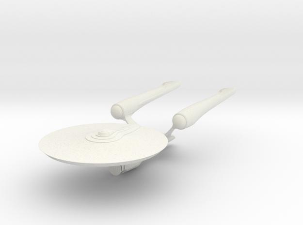 Enterprise A in White Natural Versatile Plastic