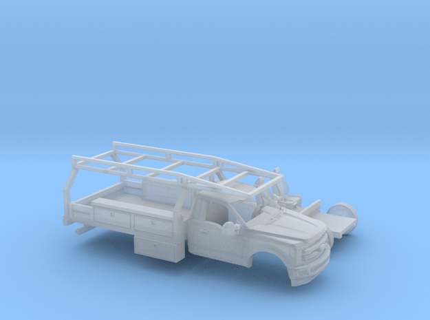 1/160 2017 Ford F-Series Reg Cab Contractor Kit in Smoothest Fine Detail Plastic
