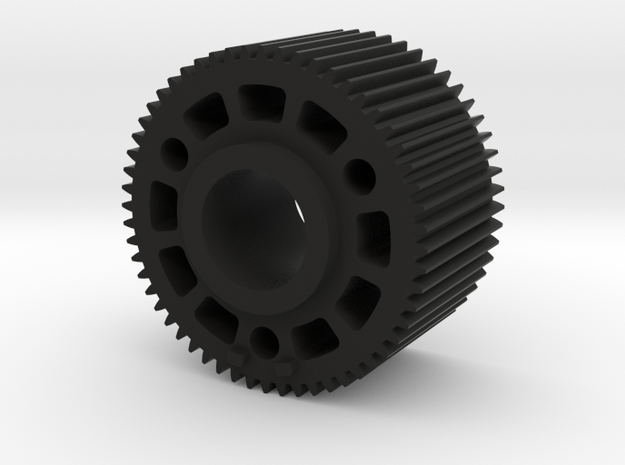 "Preston Standard 0.8 Module Gears. 1"" long in Black Natural Versatile Plastic"