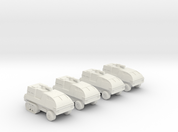 285 Scale Klingon Kral-W GWVs MGL in White Natural Versatile Plastic