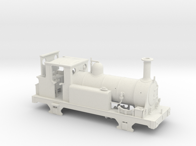OO/HO Scale LBSCR Egmont in White Natural Versatile Plastic: 1:87 - HO