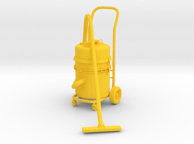 1:14 Vacuum cleaner Staubsauger Nass Trocken in Yellow Processed Versatile Plastic