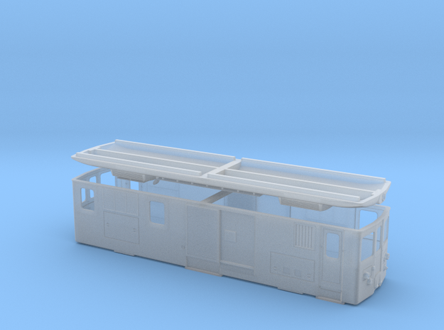 CJ Gem 4/4 in Smooth Fine Detail Plastic: 1:120 - TT