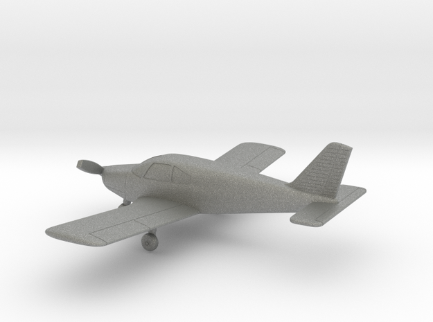 Piper PA-28-140 Cherokee 140 in Gray PA12: 1:100