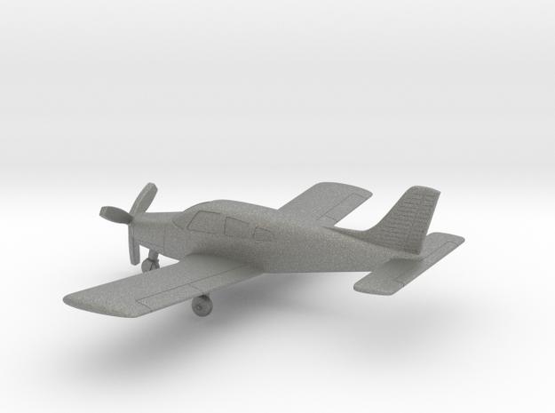 Piper PA-28R-200 Arrow II in Gray PA12: 1:100