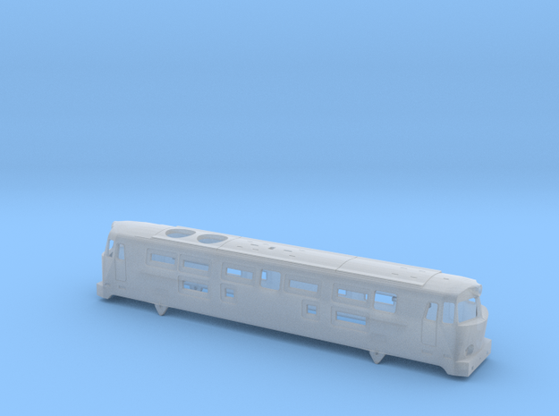 1:160 SP45 Body from 70 - GREEN in Smooth Fine Detail Plastic