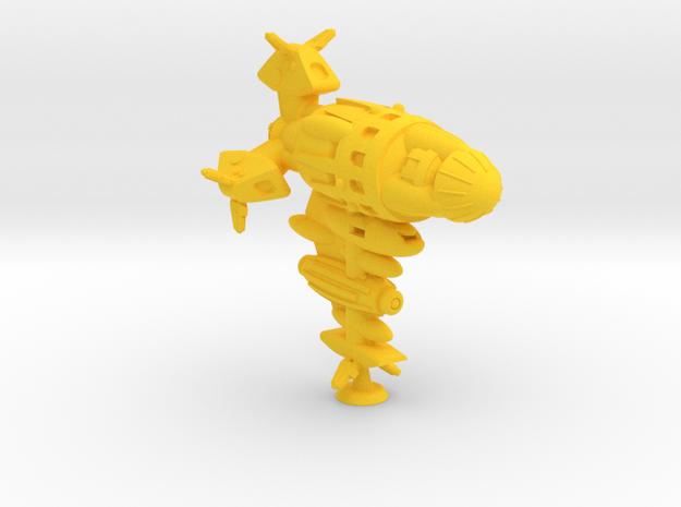 Ryu Class Heavy Battler -1:20000 in Yellow Processed Versatile Plastic