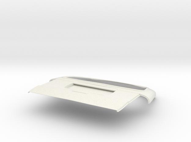 1:14 Suzuki Carry Mini Van Tailgate in White Natural Versatile Plastic