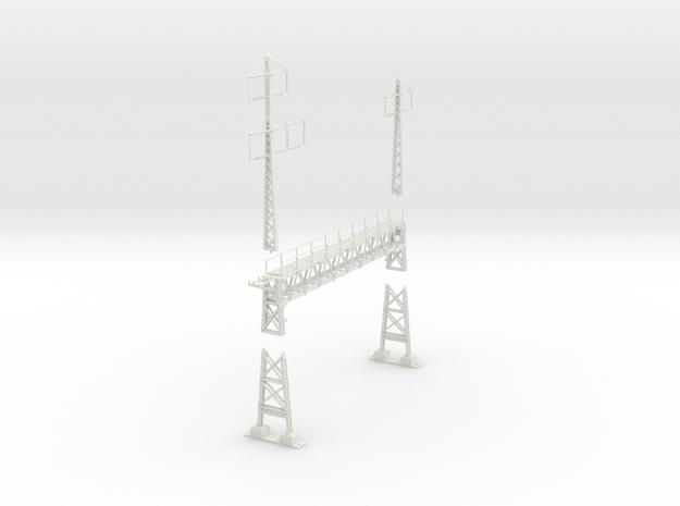 PRR signal lattice2-2x2-3_4 track in White Natural Versatile Plastic