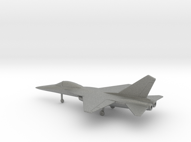 AIDC F-CK-1A Ching-kuo in Gray PA12: 1:160 - N
