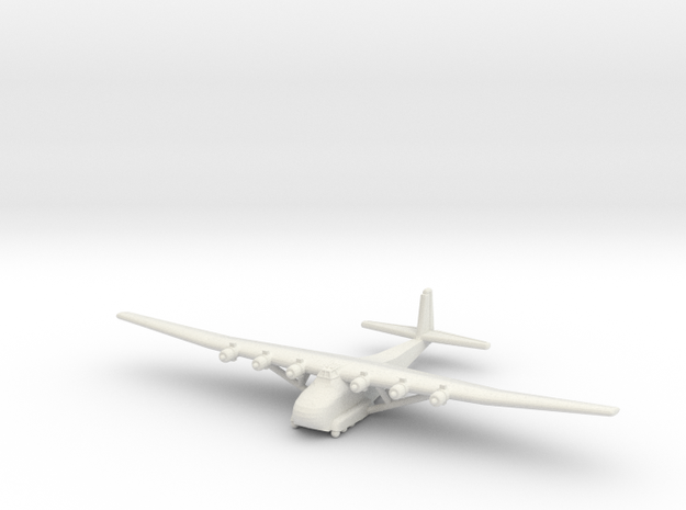 Me-323 Gigant 1/100 Scale in White Natural Versatile Plastic