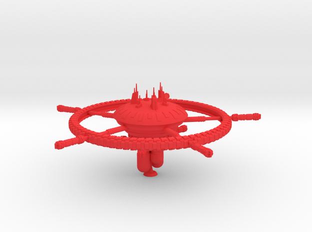 Benten Class Starbase in Red Processed Versatile Plastic